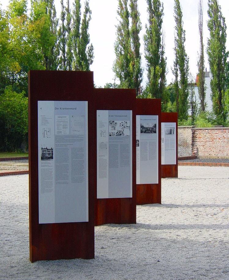 Мемориал жертвам нацистской эвтаназии (Gedenkstätte für die Opfer der Euthanasie)