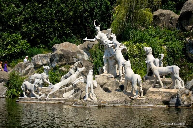 Скульптуры фонтана