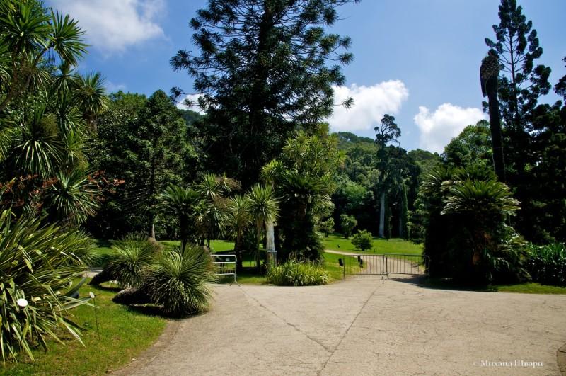 Английский сад в Казерте