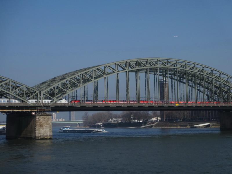 Мост Гогенцоллернов в Кельне
