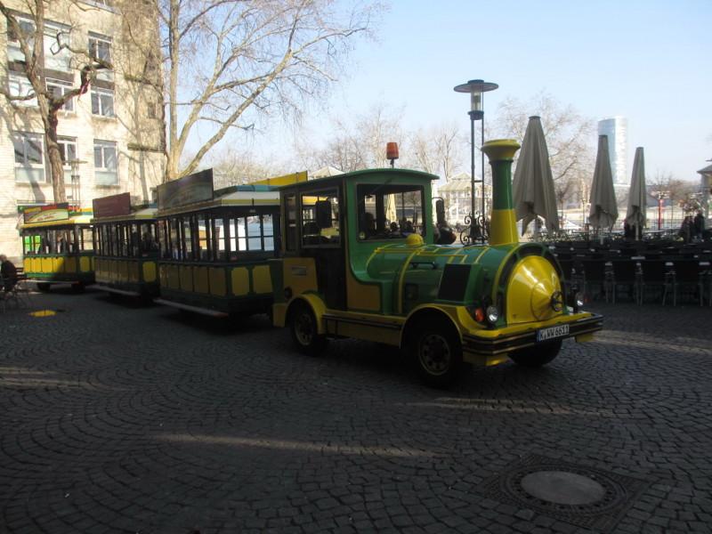 Турпоезд в Кельне
