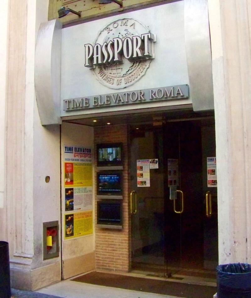 Вход в Time Elevator Rome