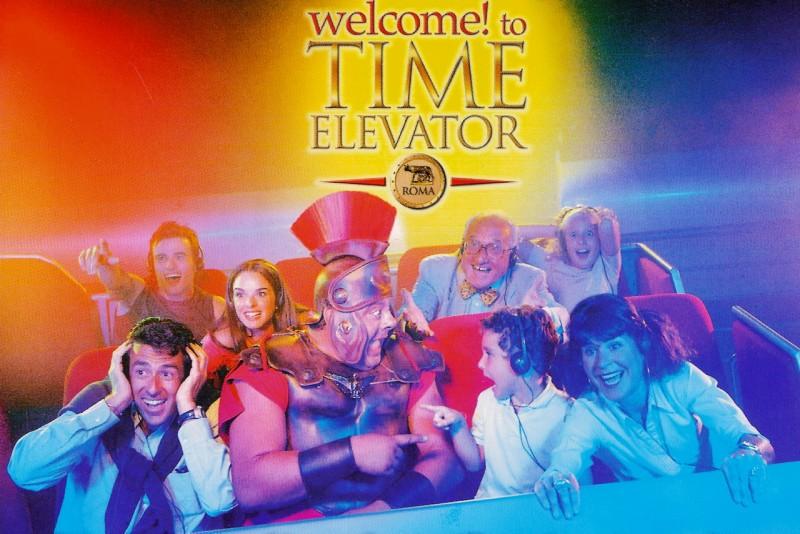 Кино-аттракцион Time Elevator Rome