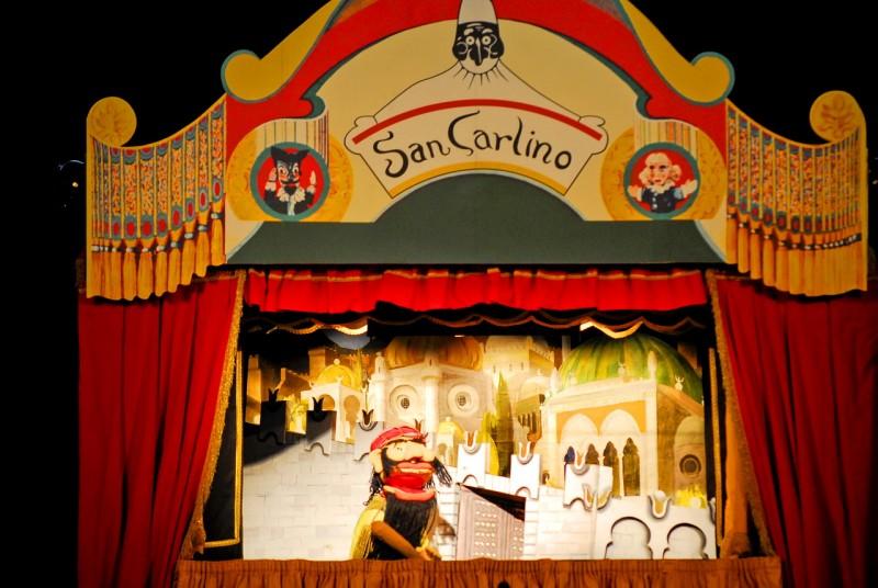 В кукольном театре Il San Carlino