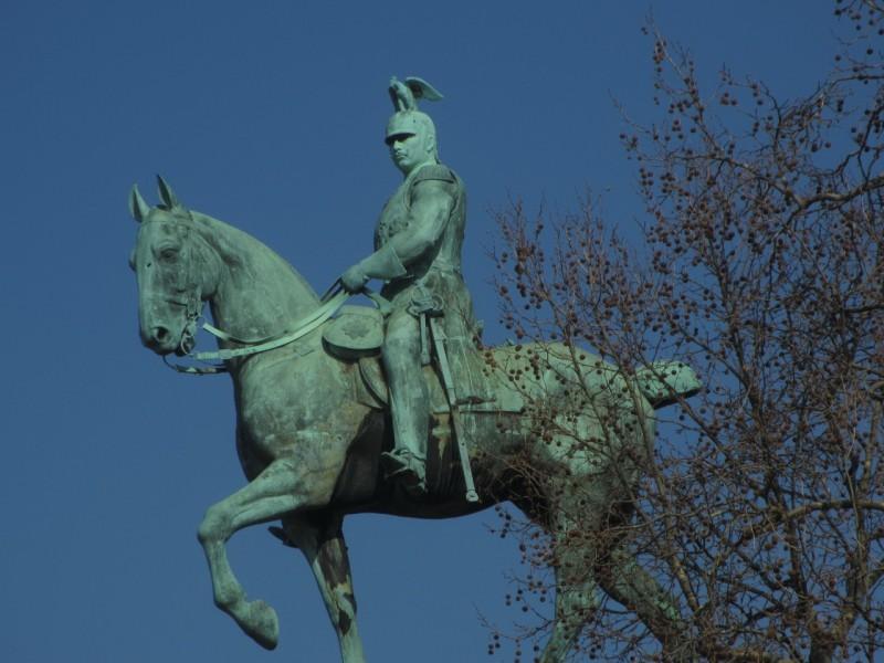 Памятник кайзеру Вильгельму II
