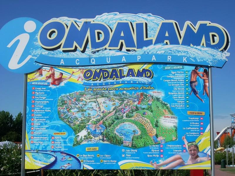Ondaland – самый большой аквапарк в Пьемонте
