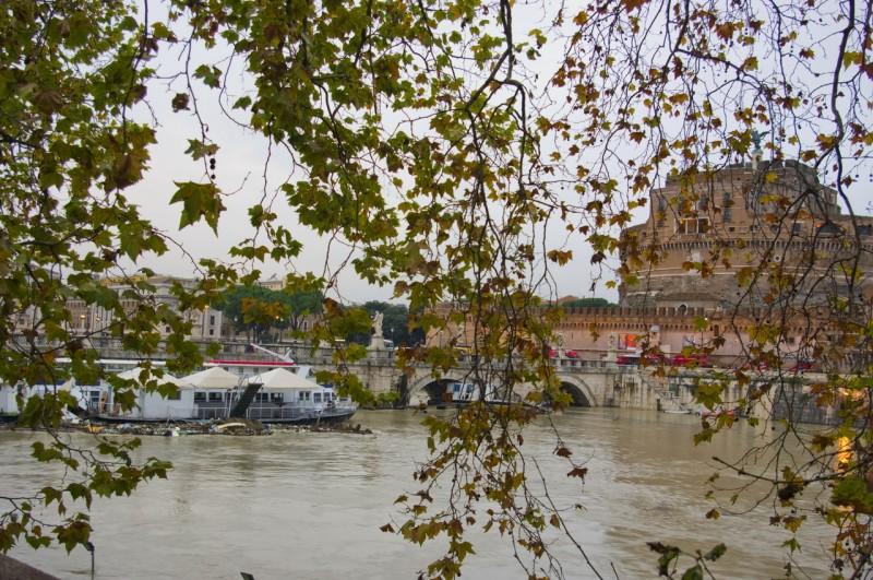 Тибр - река, освященная судьбой Рима