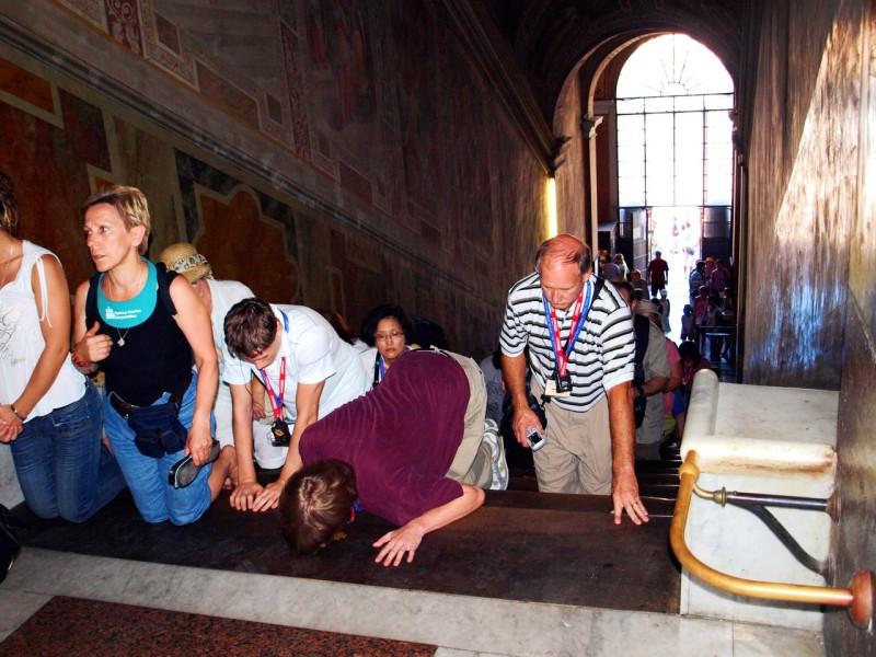 На Святой лестнице