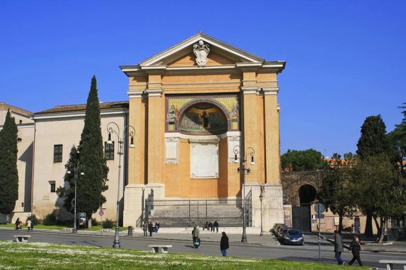 Папская капелла св. Лаврентия (Cappella di San Lorenzo) с великолепной мозаикой