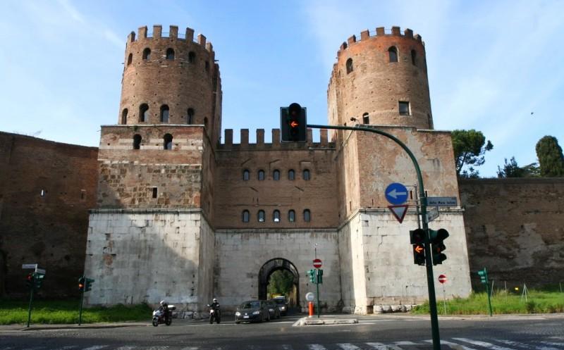 Порта Аппия (позднее «Ворота святого Себастьяна»)