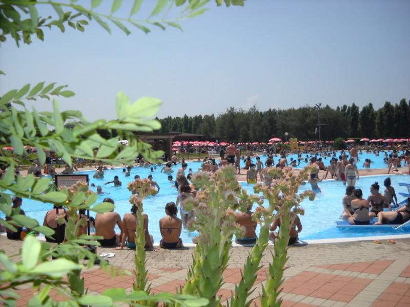 Аквапарк Голубой луг - один из самых зеленых парков Ломбардии