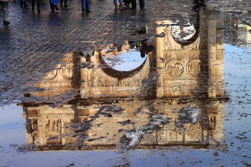 Отражение арки