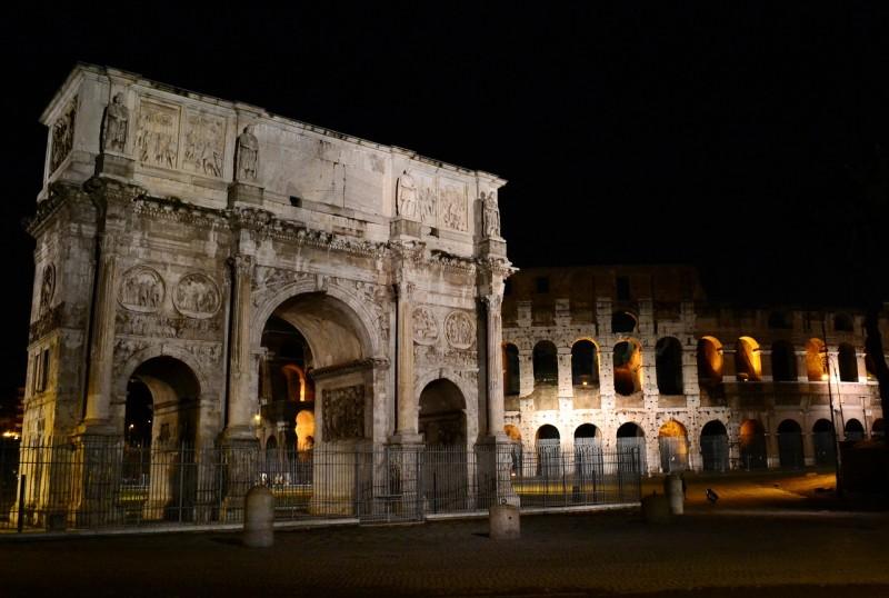Арка Константина – свидетельство триумфа великого императора