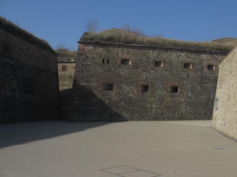 Фрагмент главного крепостного рва