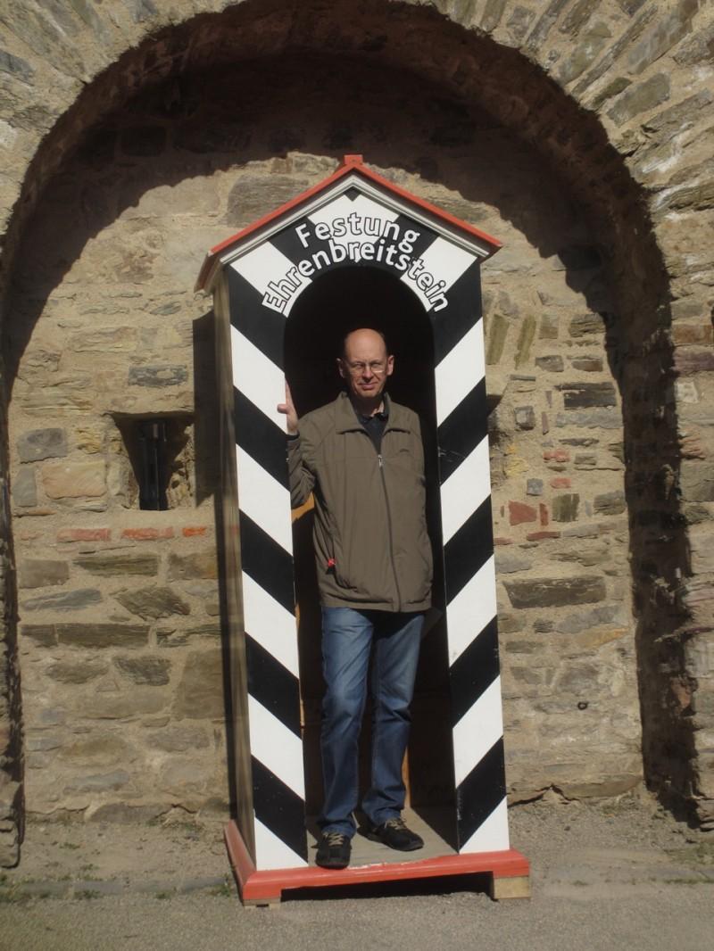 Сторожевая будка в главном крепостном рву