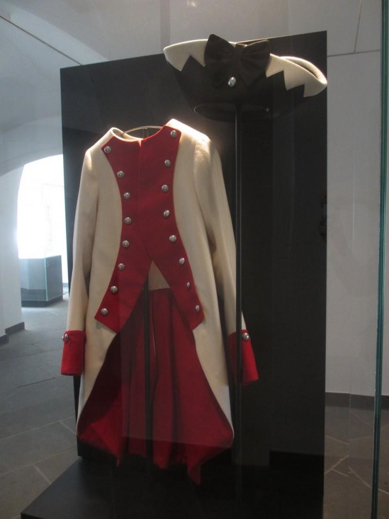 Экспонат крепостного музея