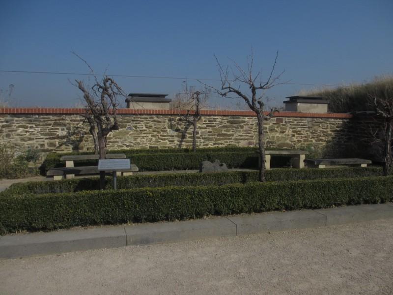 Сквер на крепостных стенах