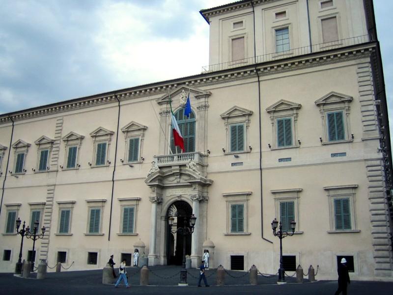 Квиринальский дворец (Palazzo del Quirinale)