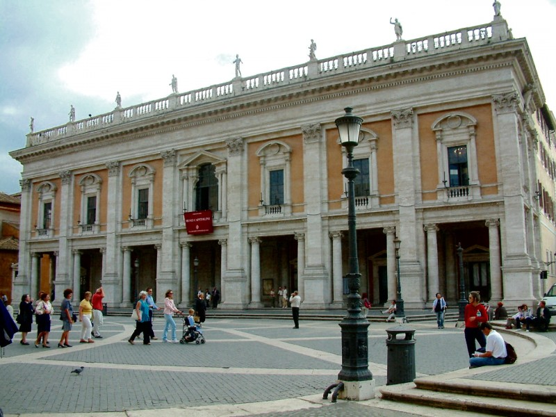 Дворец Консерваторов (Palazzo dei Conservatori)