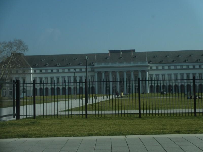 Дворец курфюрста в Кобленце