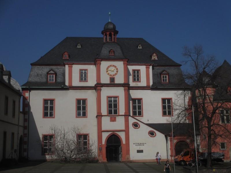 Здание музея Среднего Рейна в Кобленце