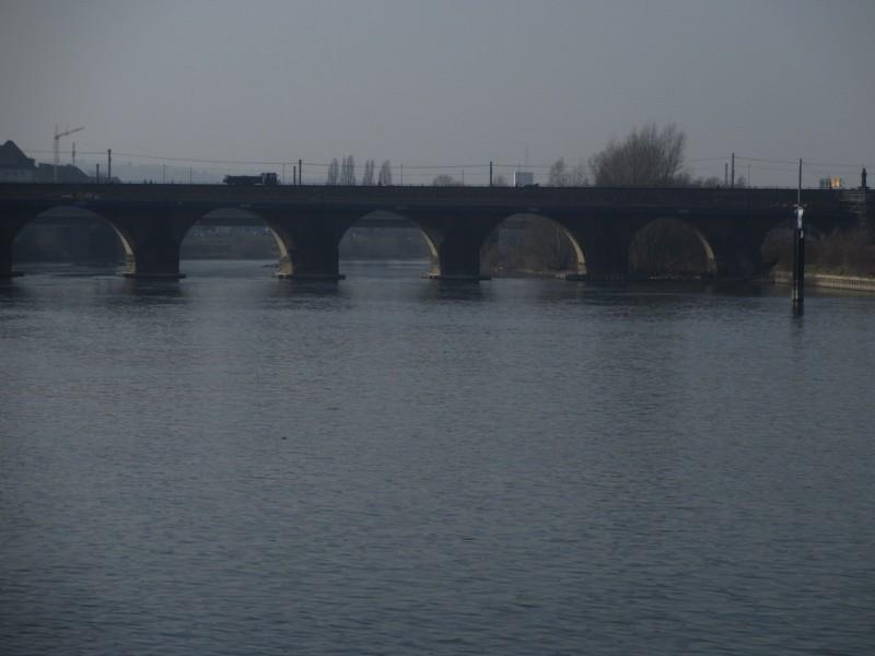 Мост Балдуинбрюкке в Кобленце (XIV век)