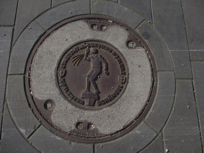 Один из символов Кобленца - Шенгель