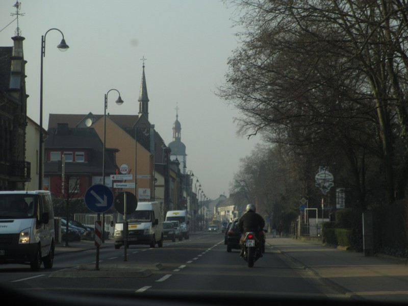 По дороге в Бонн
