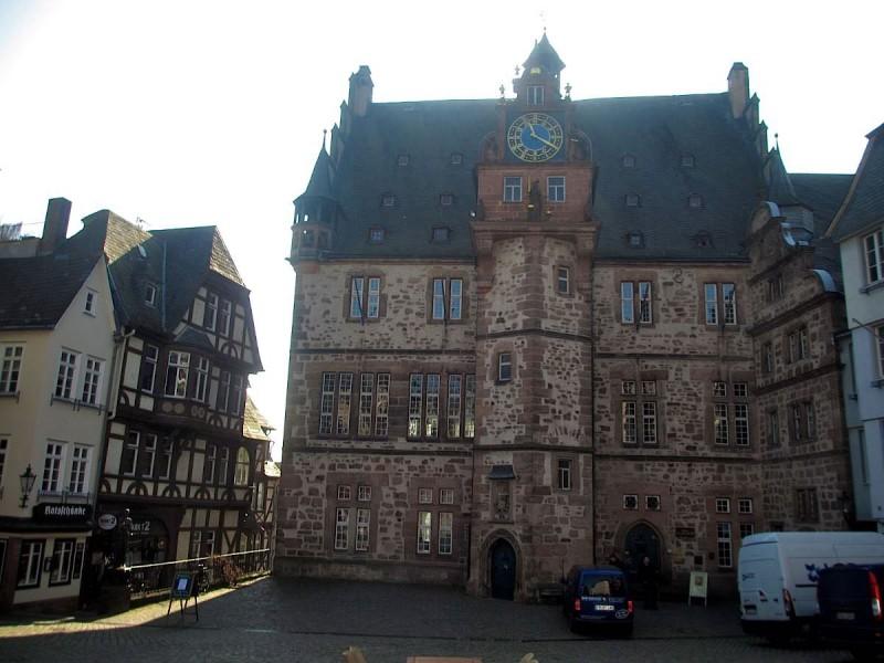 Городская ратуша в Марбурге