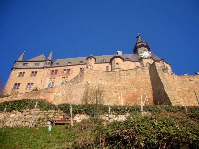 Замок ландграфов Гессена в Марбурге