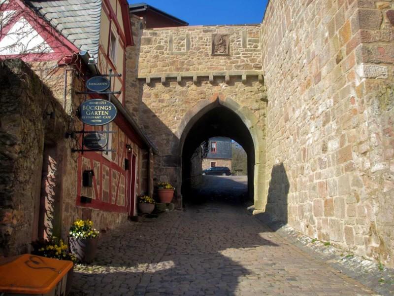 Ворота марбургского замка
