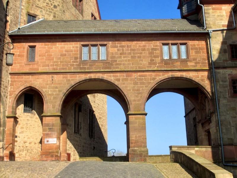 Ландграфский замок в Марбурге