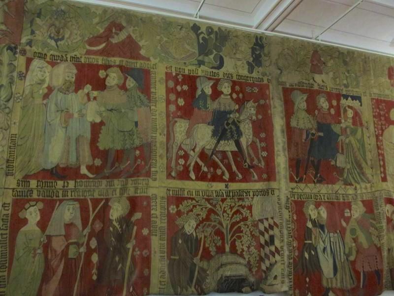 Средневековый гобелен