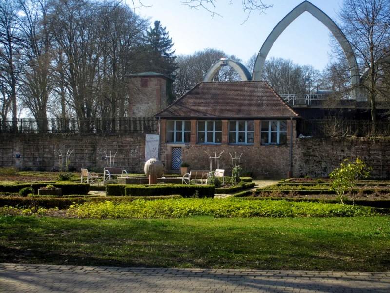 Парк марбургского замка