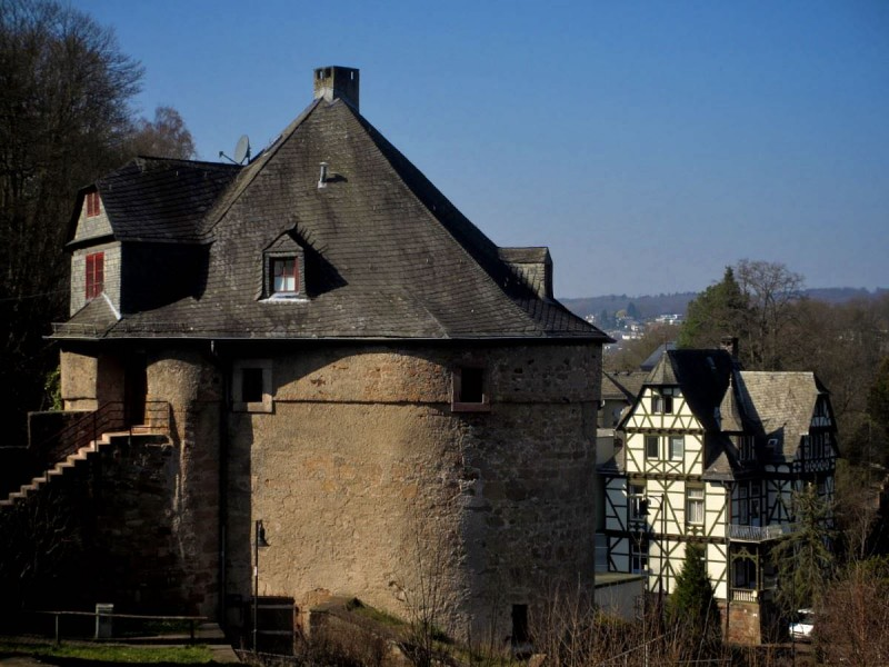 Башня Ведьм в марбургском замке