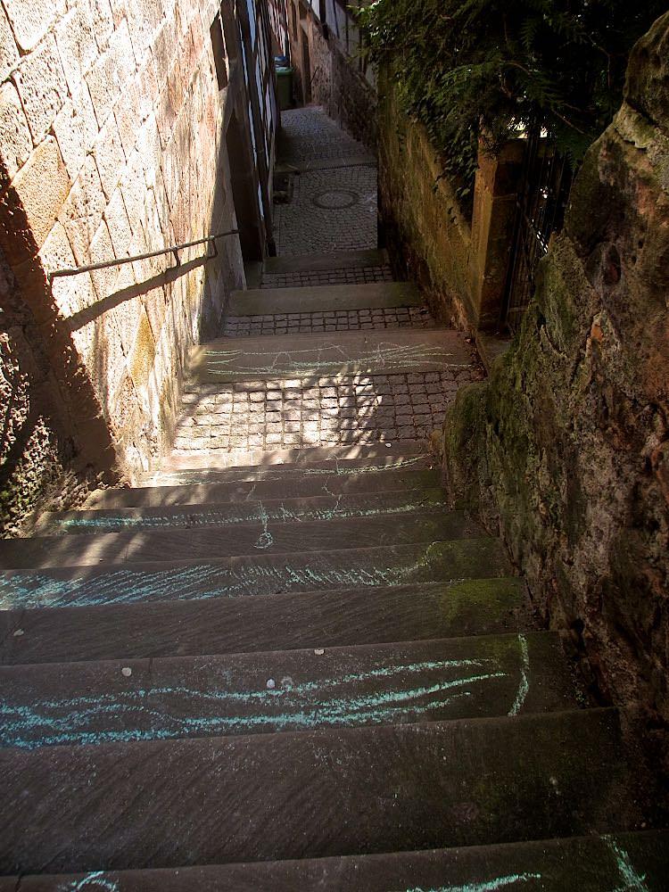 А это одновременно и улица и лестница