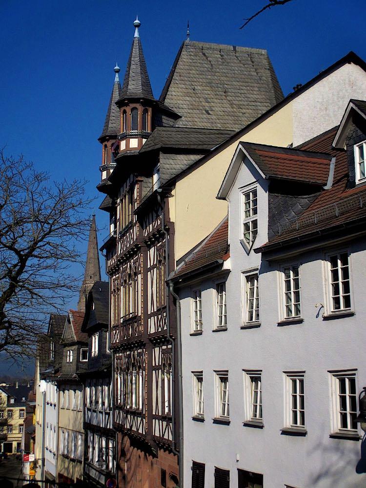 Марбург. Улица Steinweg