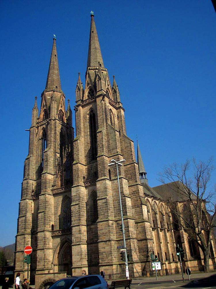 Церковь святой Елизаветы в Марбурге