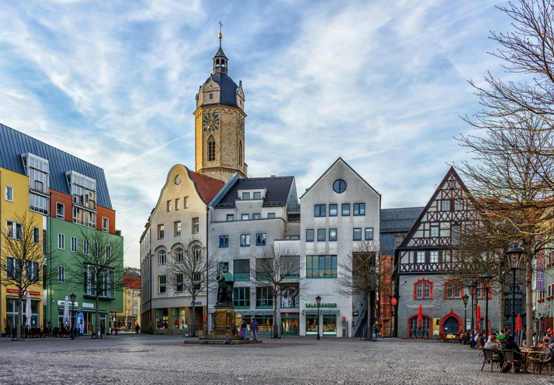 Йена - старинный город Германии