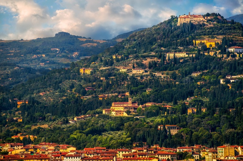 Город Фьезоле – «подлинный земной рай» в Тоскане