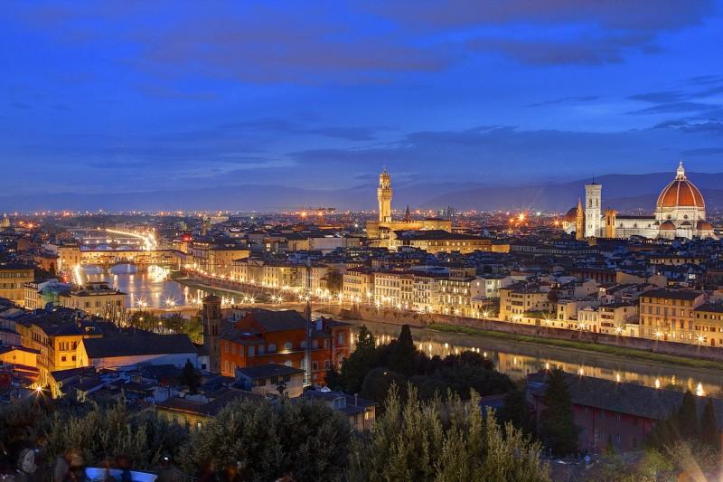 Панорама Флоренци с Фьезоле