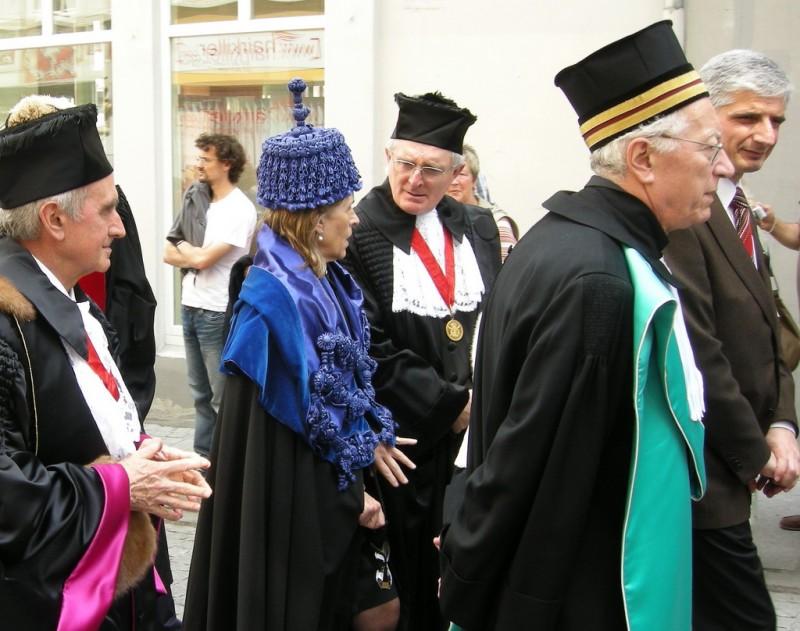 Празднование 450-летия Йенского университета