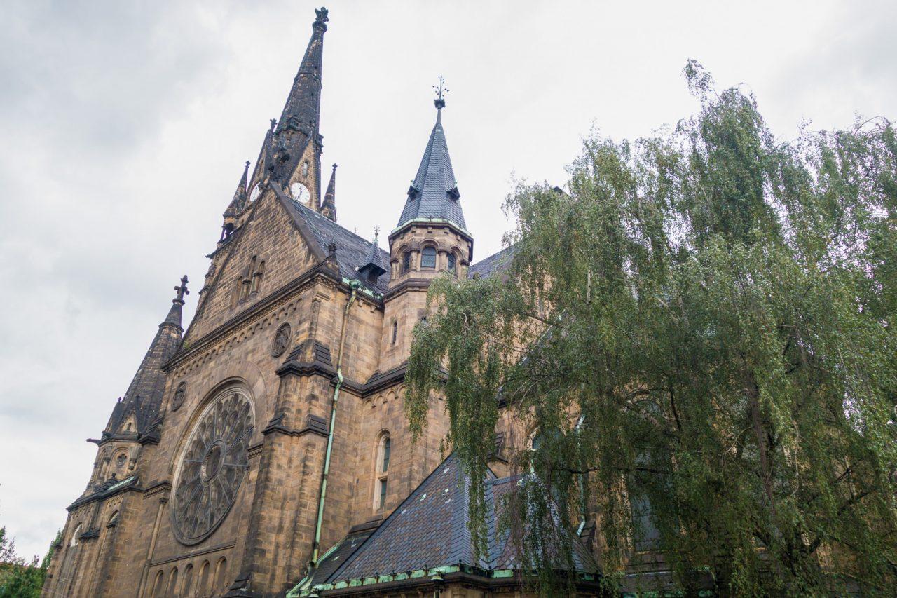 Церковь Мартина Лютера (Martin-Luther-Kirche)