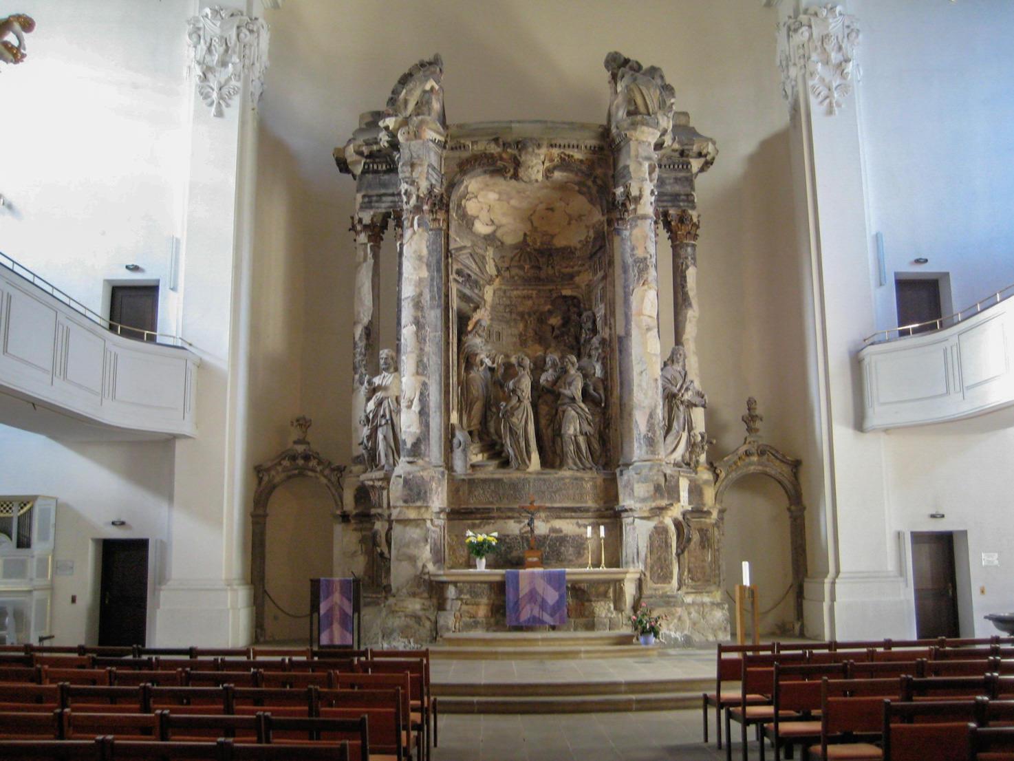 Foto del altar del holocausto 70