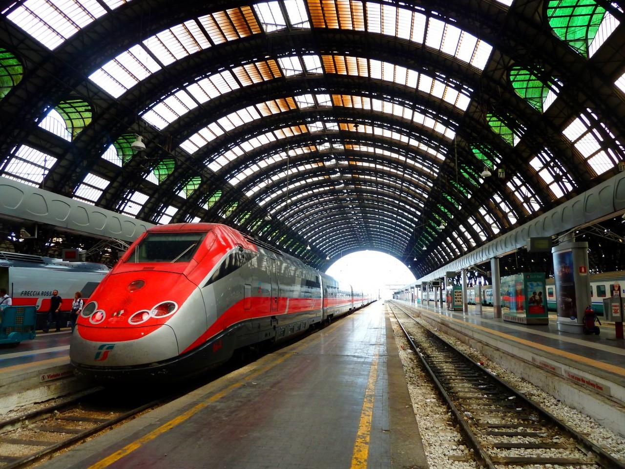 Центральный ж/д вокзал в Милане