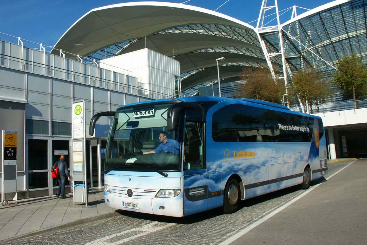 Автобус компании Lufthansa Airport Bus