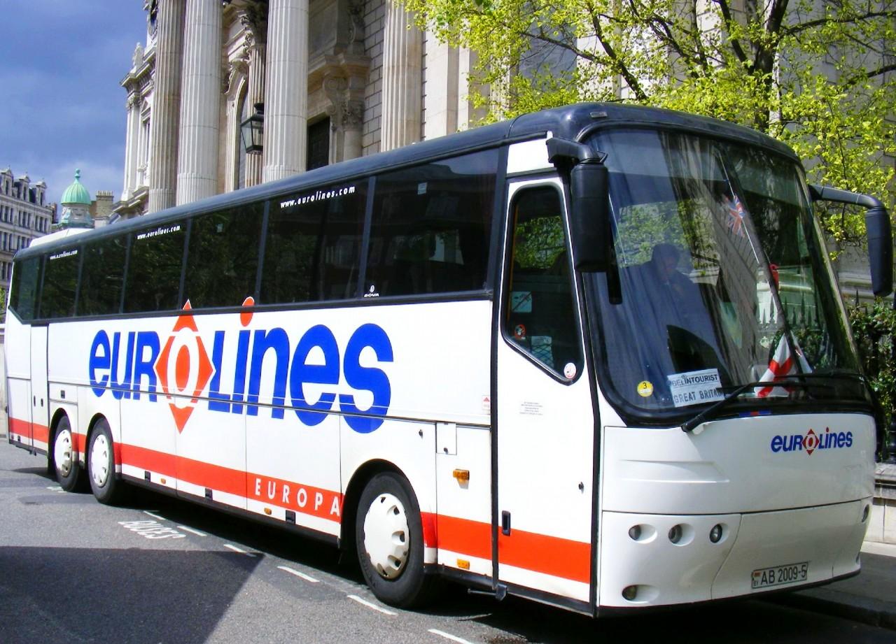 Автобусах Eurolines