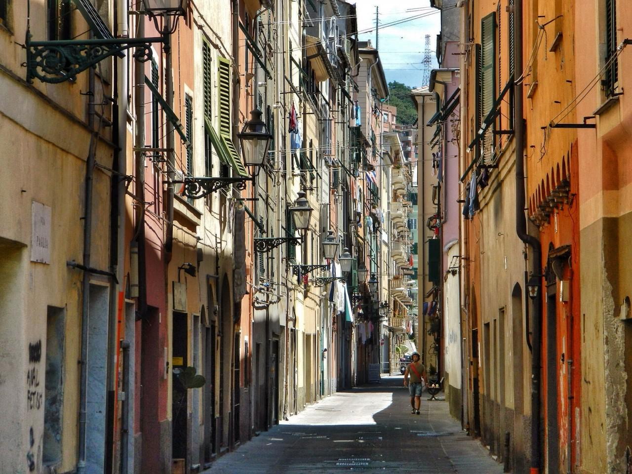 Улочки Генуи
