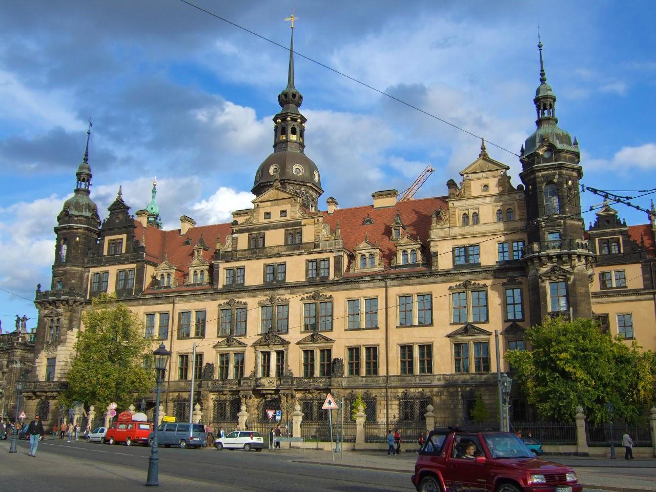 Дрезденский замок-резиденция (Dresdner Residenzschloss)