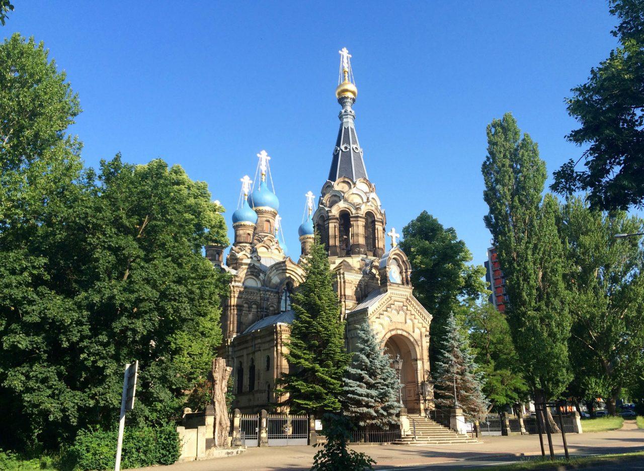Церковь Преподобного Симеона Дивногорца (Russisch-Orthodoxe Kirche)